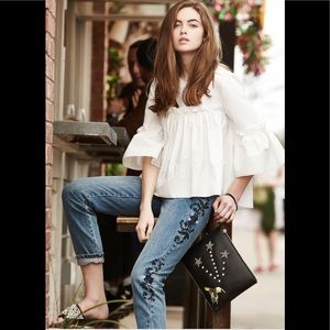 One Teaspoon Jeans Blue Muse Lola Awesome Baggies